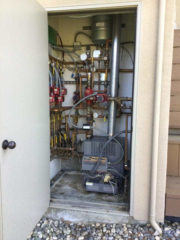Santa Cruz, CA - Inspected boiler.