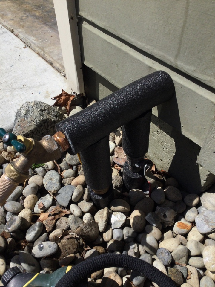 Aptos, CA - Repaired leaking pipe.