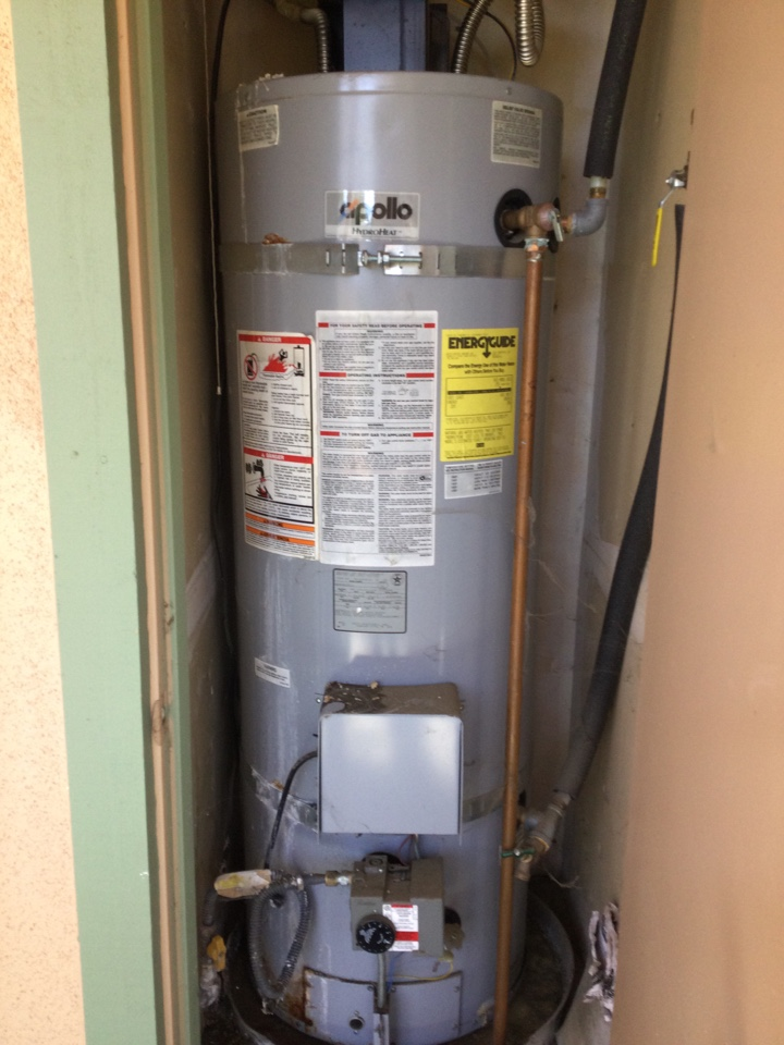 Scotts Valley, CA - Provided estimate to replace a combination water heater.