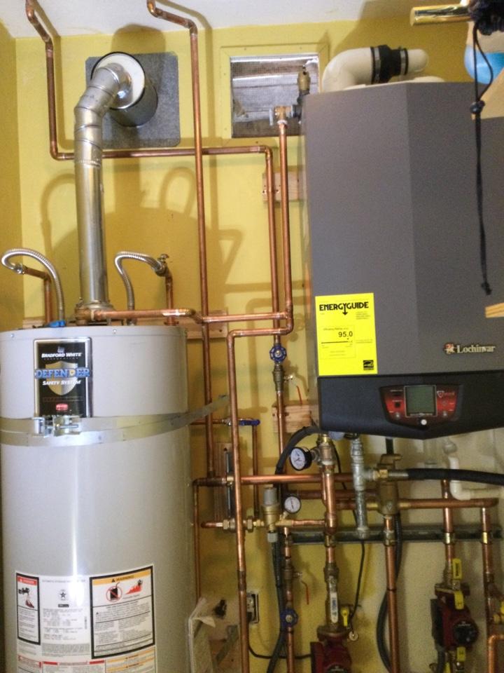 Santa Cruz, CA - Installed a new boiler