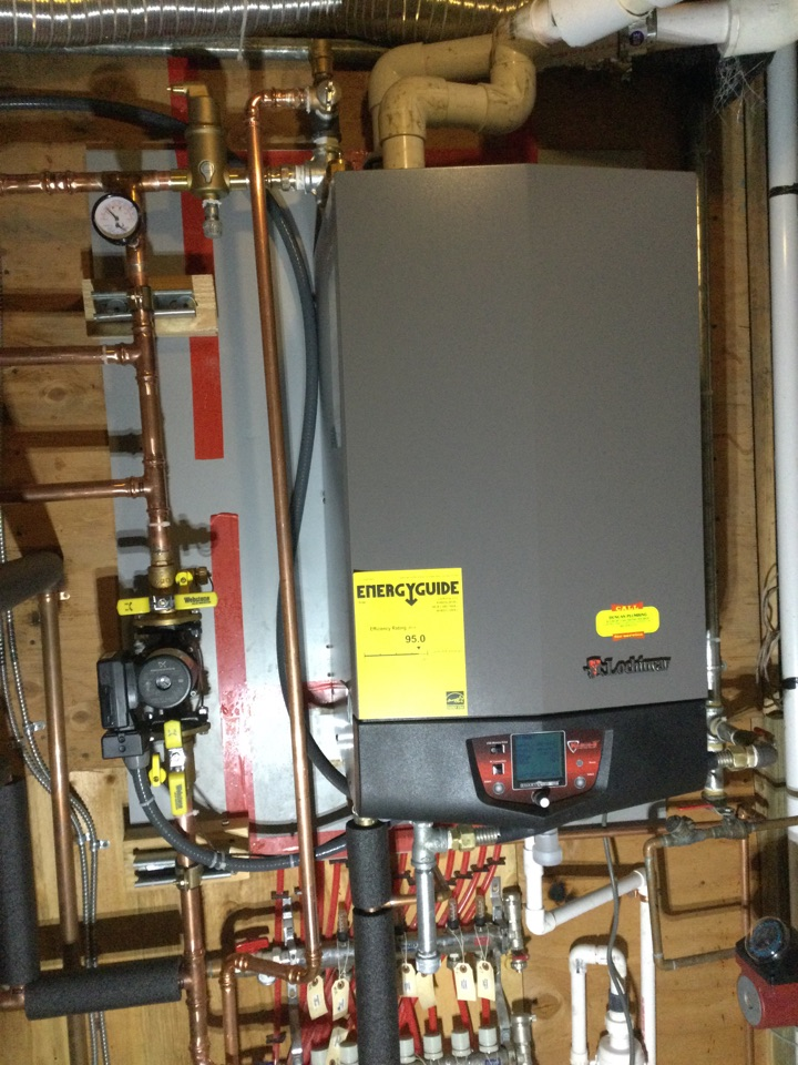 Watsonville, CA - Installed a new boiler