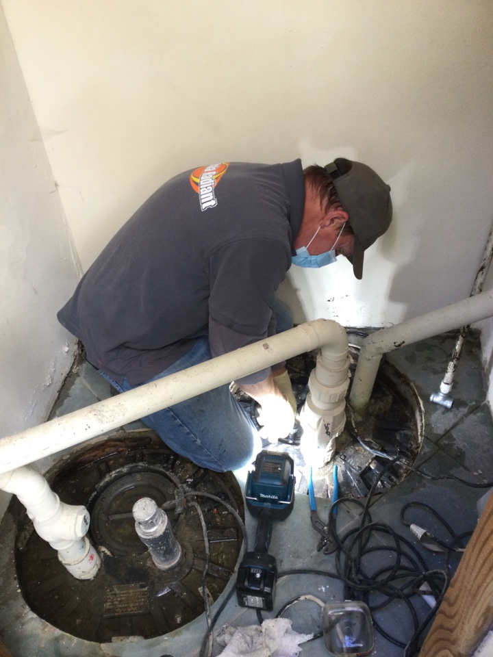Capitola, CA - Performed sewage ejection pump diagnostic service.