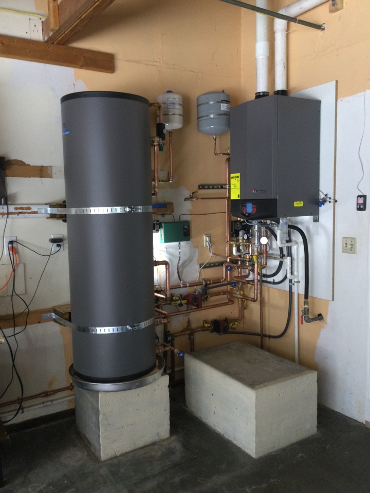 Scotts Valley, CA - Installed a new boiler.