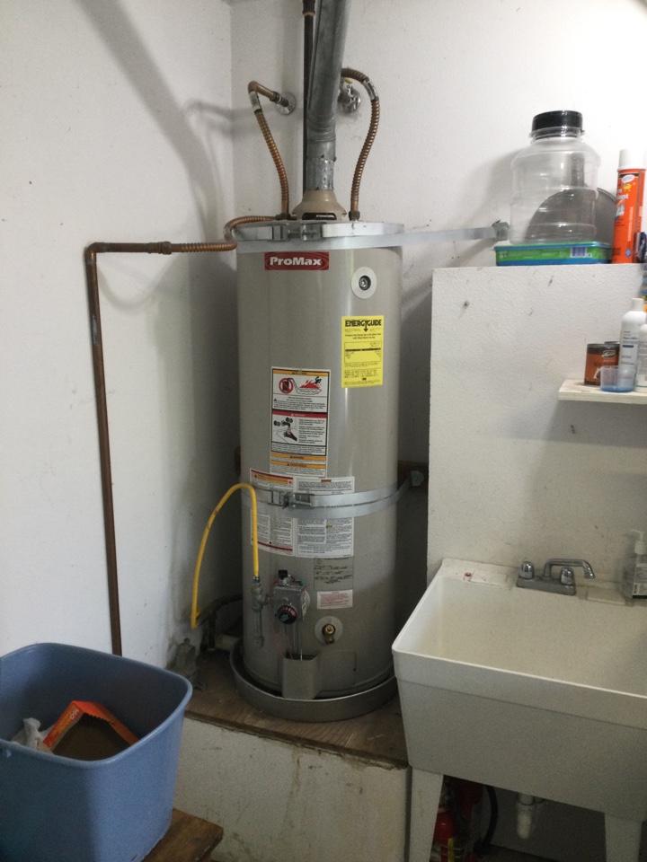 Santa Cruz, CA - Repaired non working water heater.
