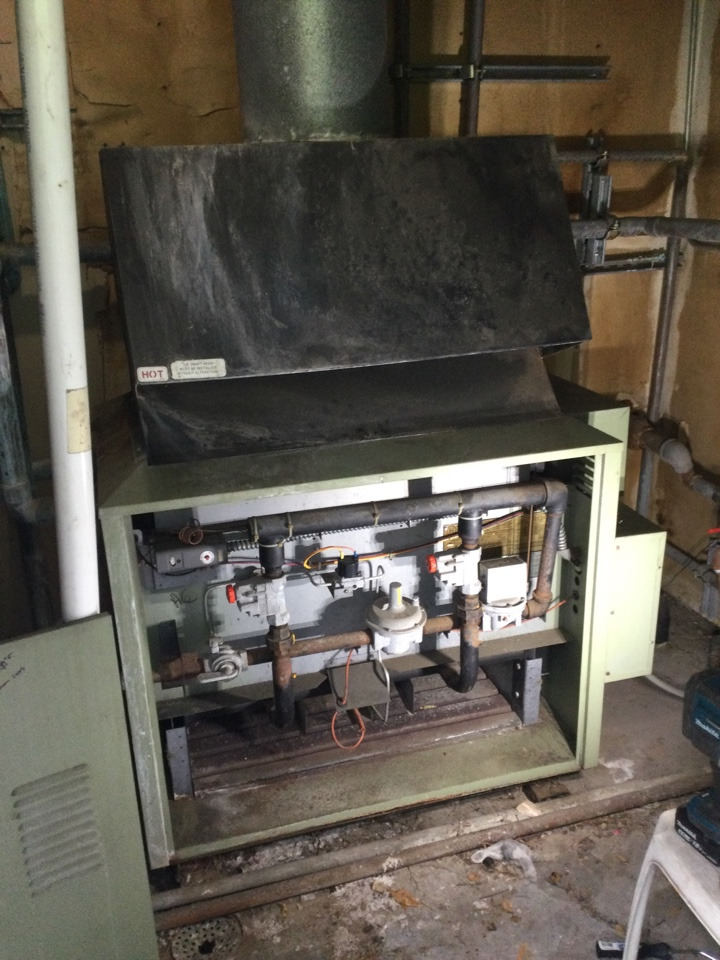 Provided an estimate to repair an old heating system.