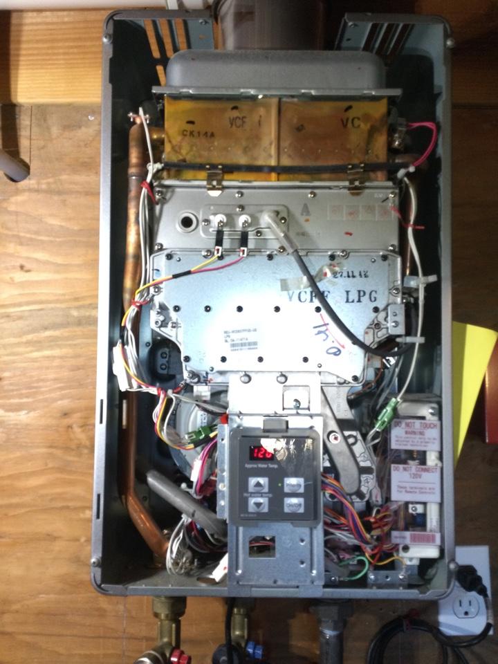 Watsonville, CA - Serviced a tankless water heater