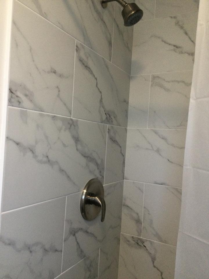 Santa Cruz, CA - Installed tub and shower valve trim