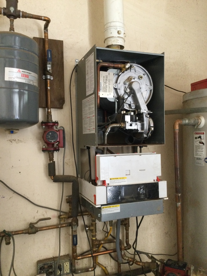 Provided estimate to replace the boiler.