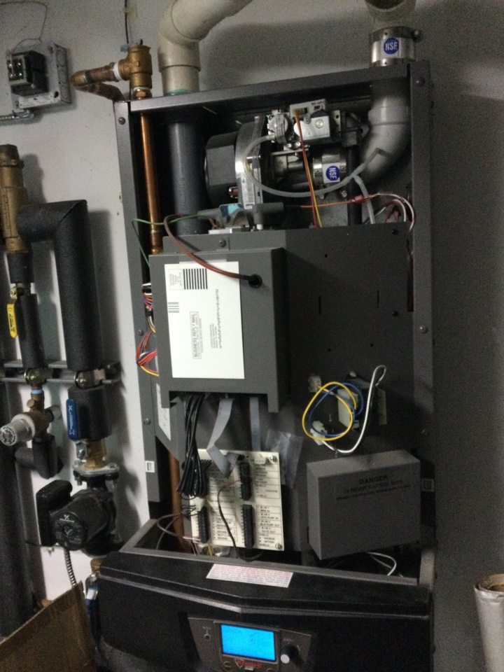 Repaired heating system.