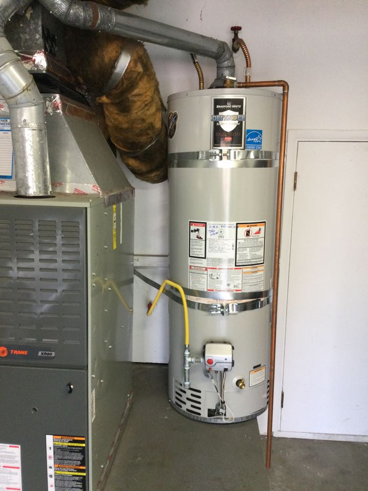 Provided estimate to replace a water heater.