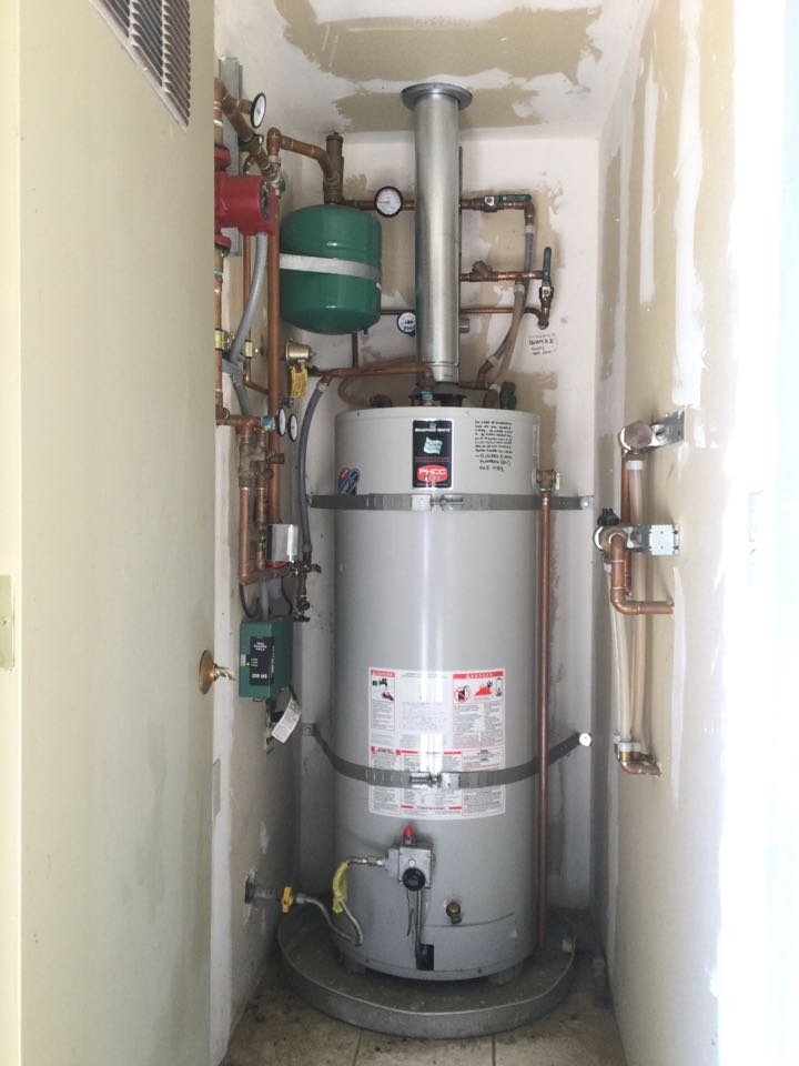 Provided estimate for a boiler replacement.
