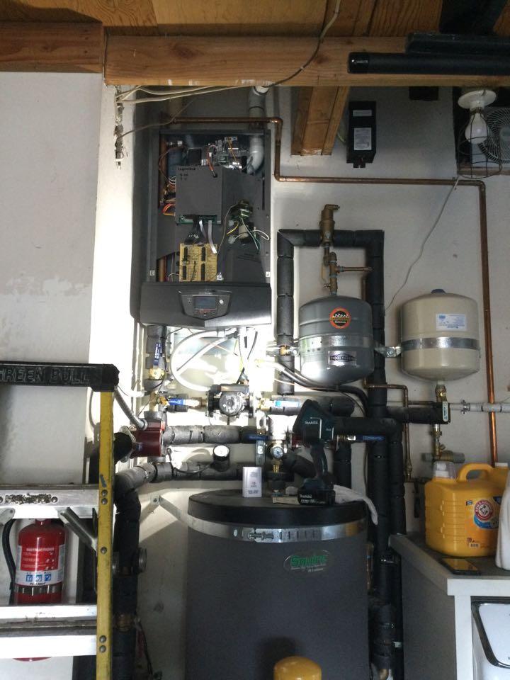 Capitola, CA - Serviced a condensing boiler