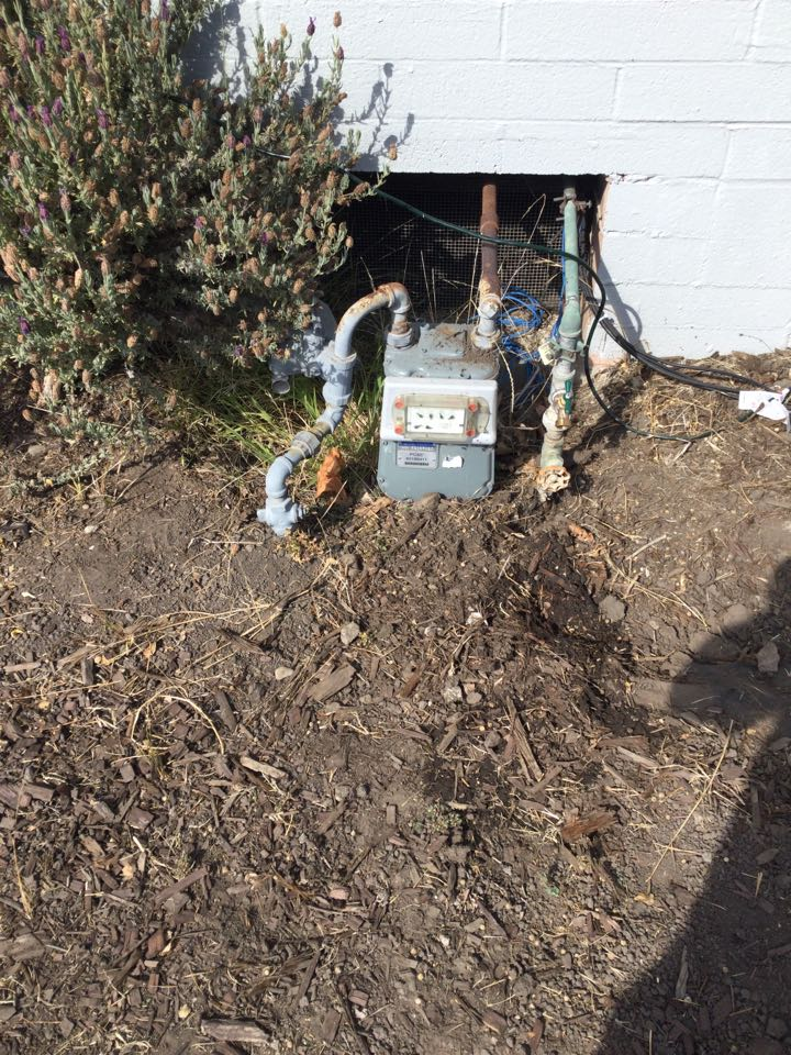 Soquel, CA - Provided estimate to replace the water service line.