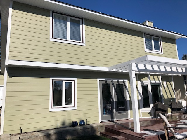 Calgary, AB - James Hardie project all completed!