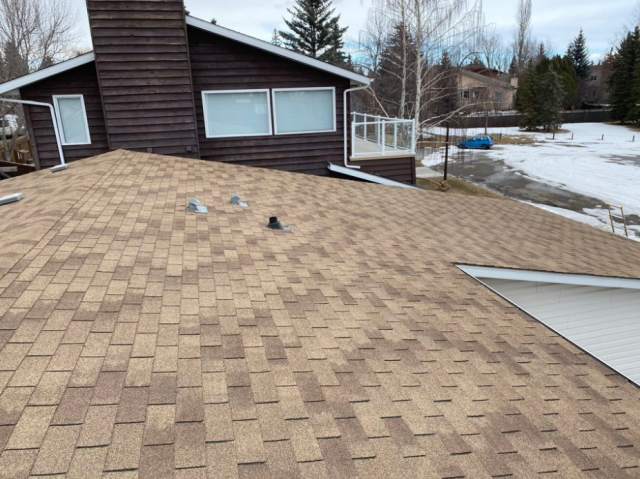 Chestermere, AB - Roofing Repair Estimate and Roof Installation for previous client.