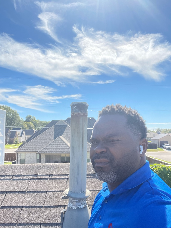 Memphis, TN - Client had a rusty vent pipe. OPACHS cleared it out and this client is heat well. Call us for all your Heating repair. We are your Memphis Hvac contractor you can trust.
