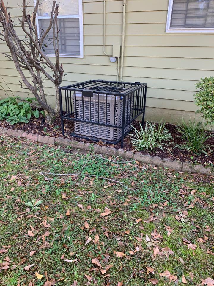 Memphis, TN - 3ton heating an air condition system install