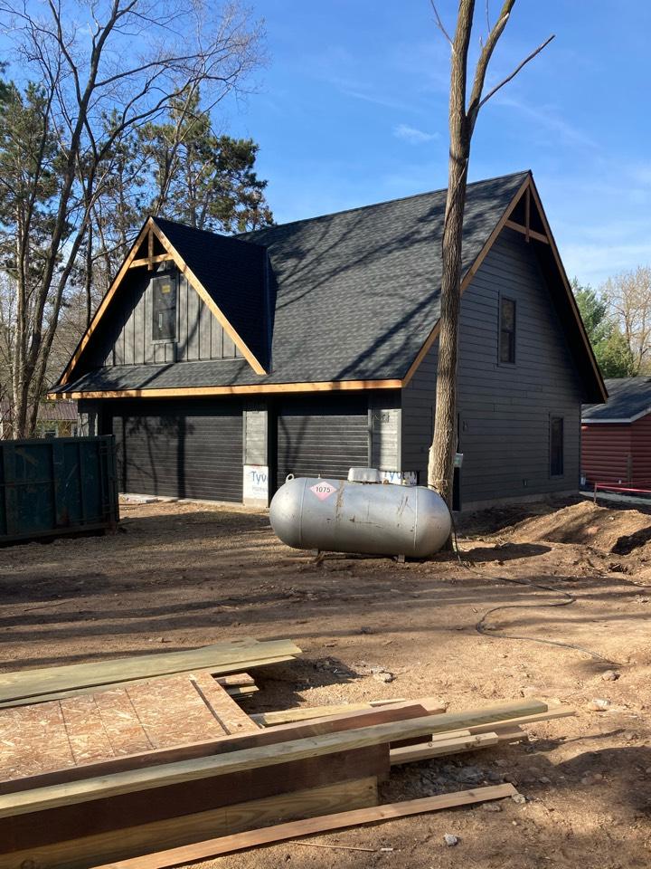 Lakeland, MN - New detached garage build