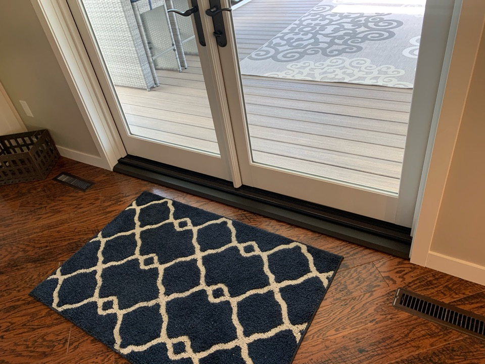 Woodbury, MN - Custom floor trim installed - screen porch