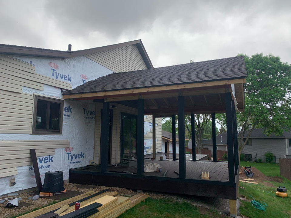 Oakdale, MN - Another GAF roof shingles