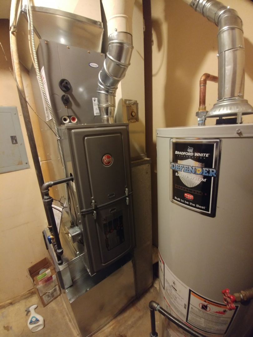 Woodstock, IL - Install new furnace and a.c. and humidifier