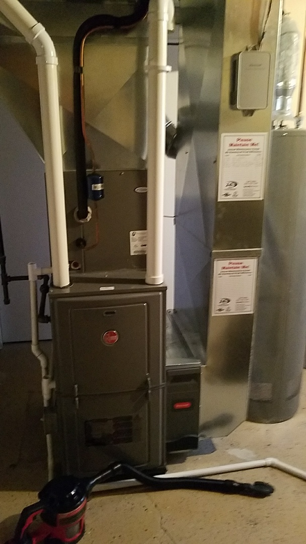 Huntley, IL - Furnace tune up on Rheem heating system