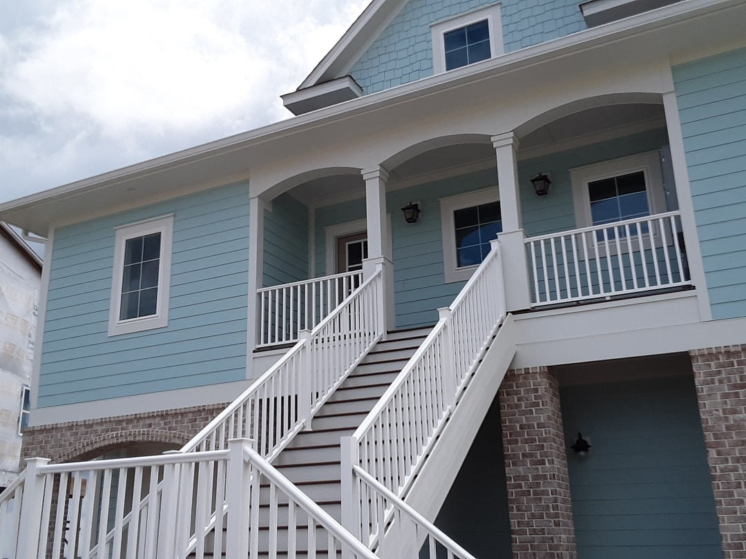 New plantation shutters.