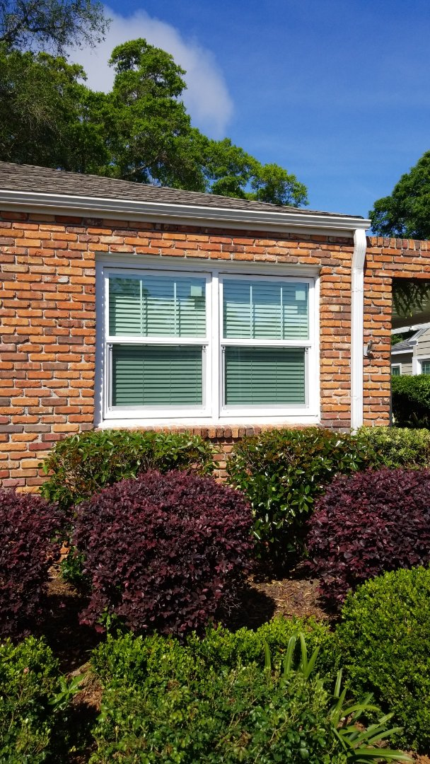installed new Shwinco impact rated windows in Pensacola,  just gotta cap the outside and caulk