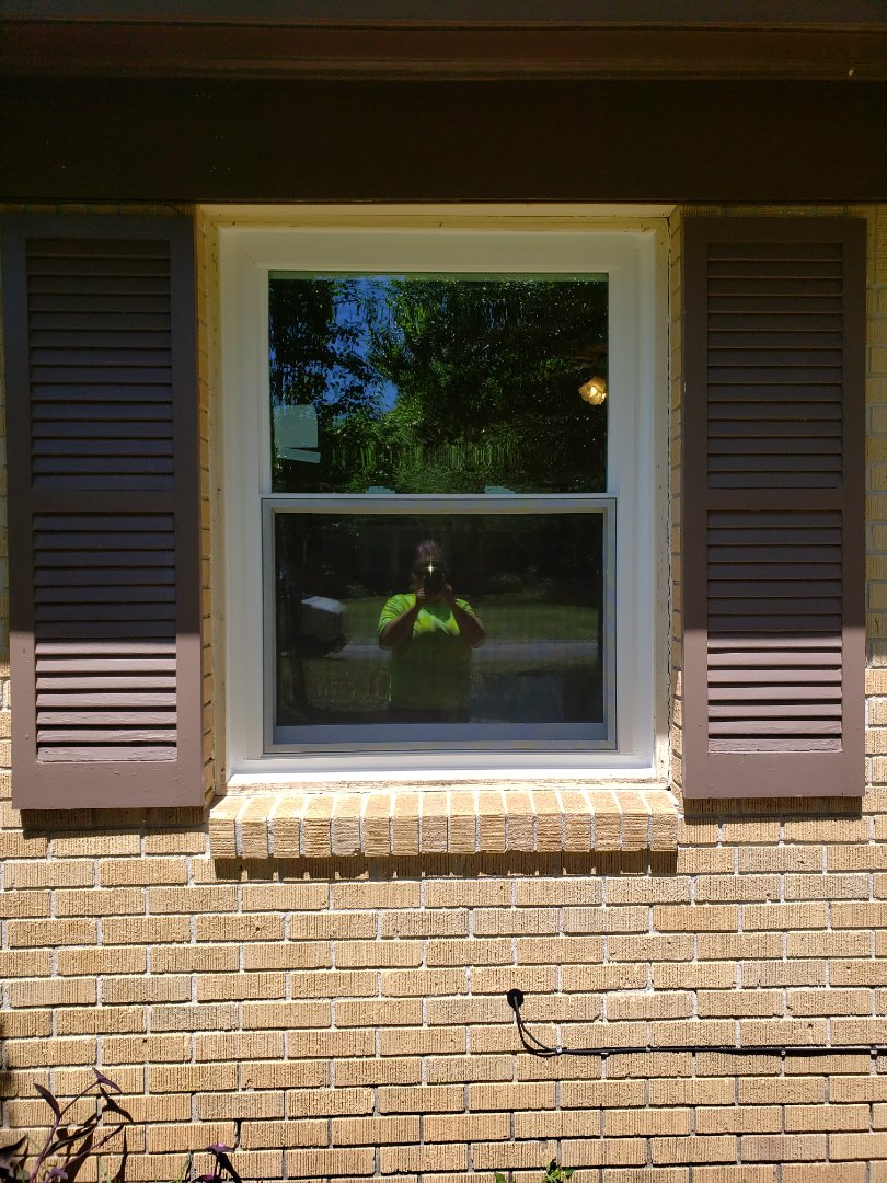 Installed Viwinco impact replacement windows
