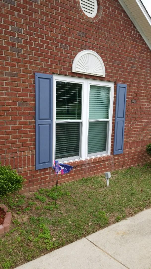 installed new Viwinco windows near Robertsdale, Al.