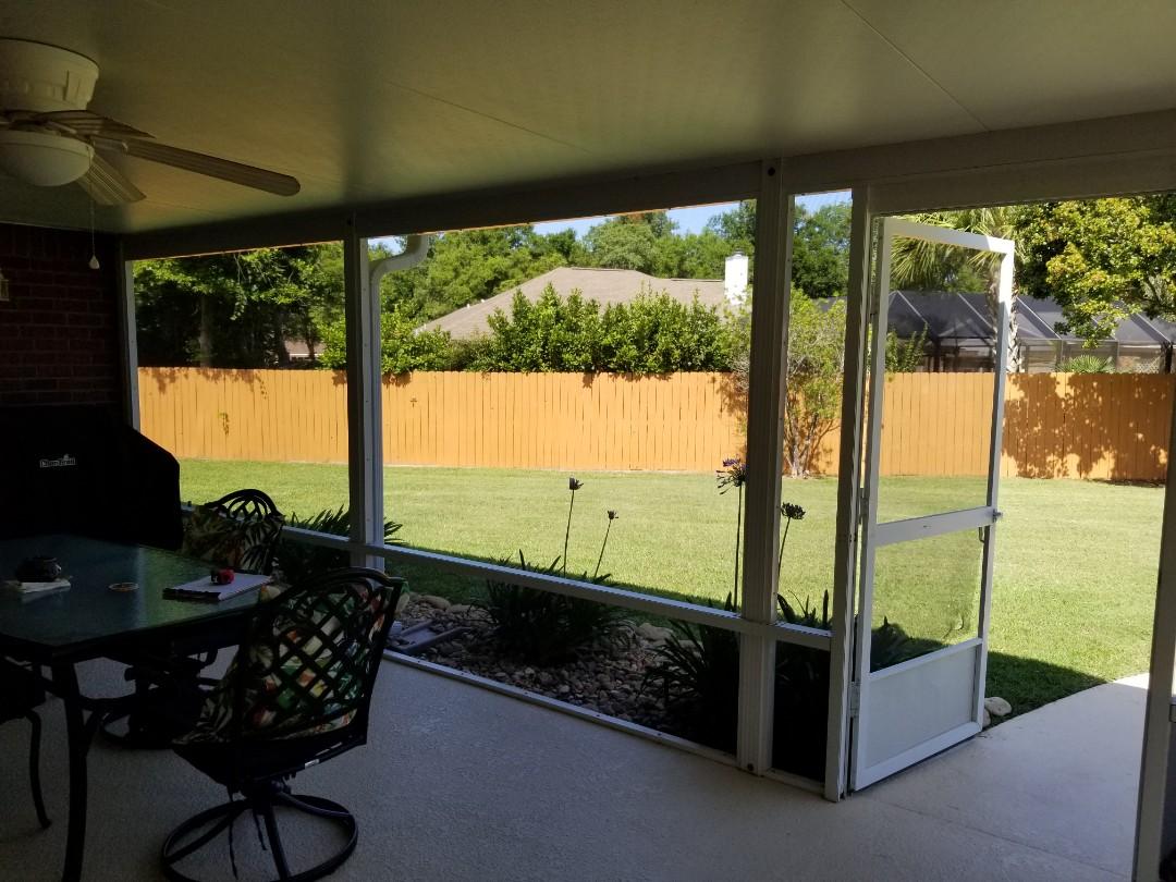 Measured for patio screens/screen door