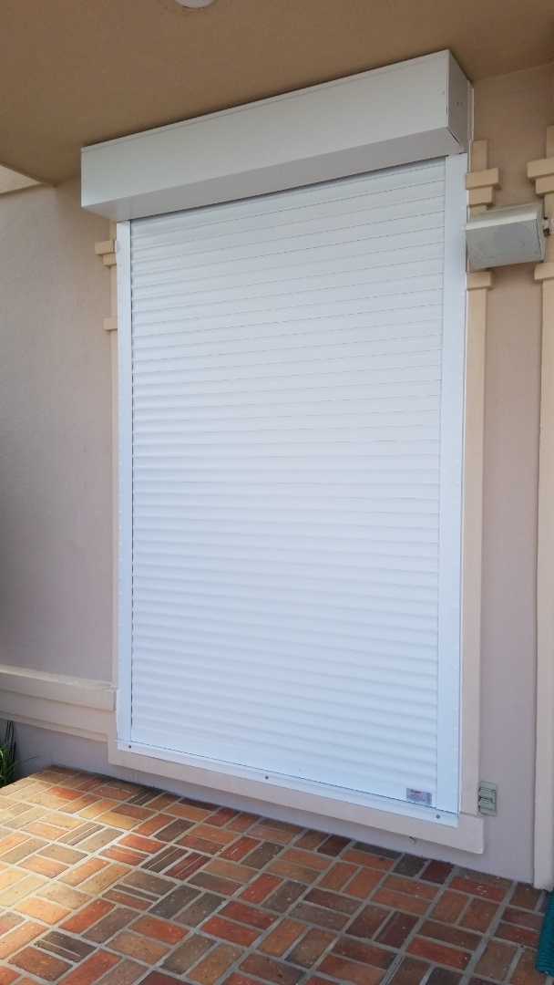 installed new hurricane protection system in Gulf Breeze Fl