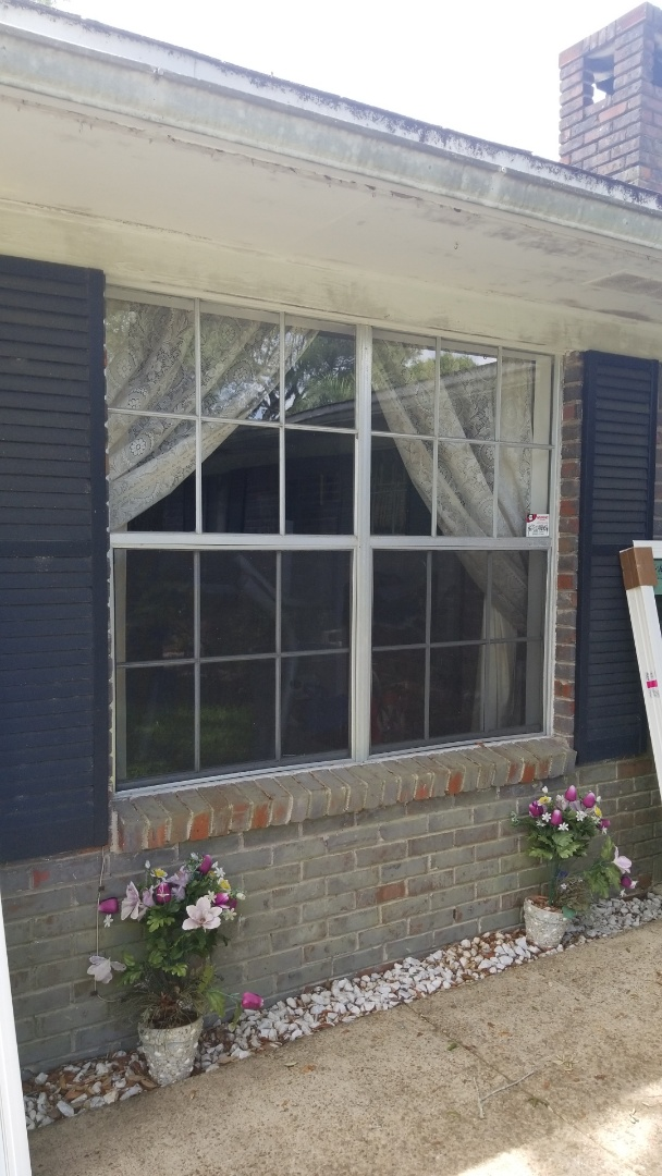 taking out old ugly windows in Fort Walton  Beach. Fl.