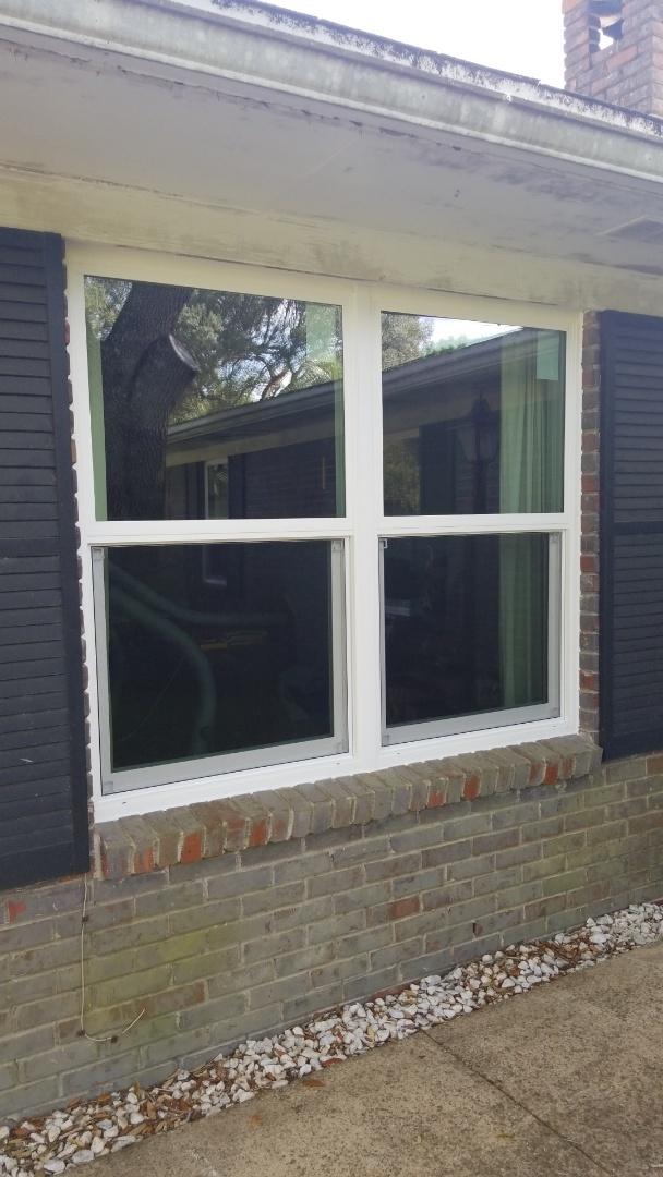 installing new Shwinco impact rated windows in Fort Walton Beach,  Fl.