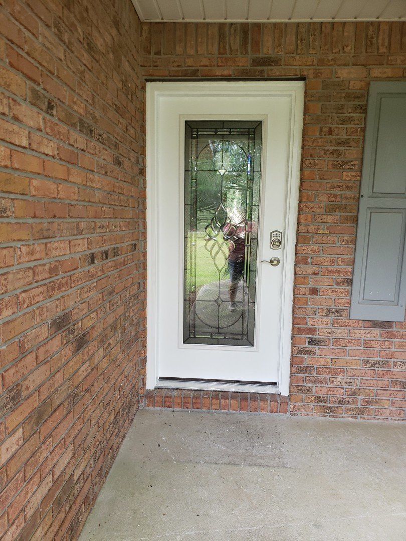 Molino, FL - Installed Thermatrue entry door and Thermatrue French doors