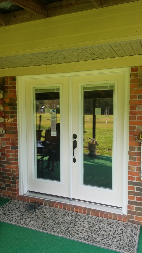 Stapleton, AL - installed new Therma Tru impact rated door in Stapleton,  Al.