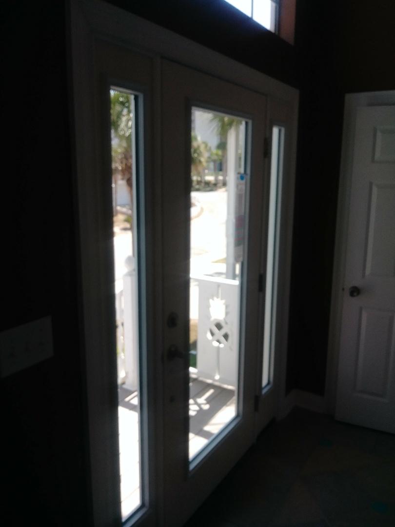 installing therma tru  doors