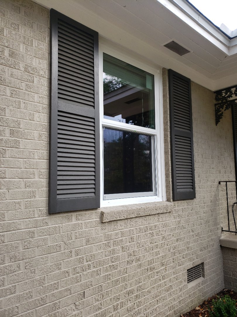 Installed Schwinco replacement impact windows