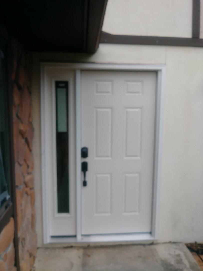Installing therma tru door