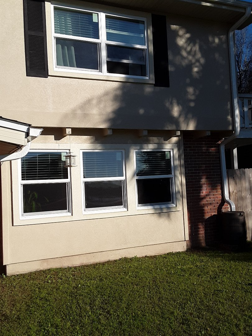 Newly-installed shwinco impact rated windows