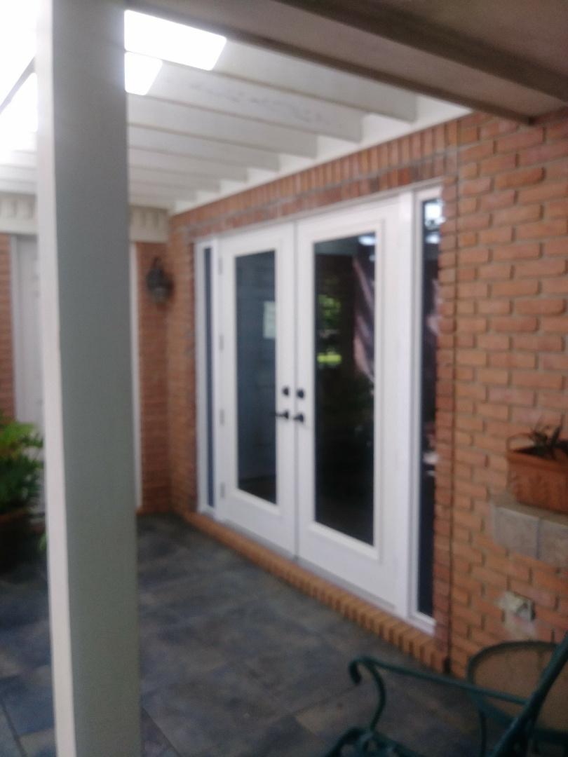 Shalimar, FL - Installing impact french door