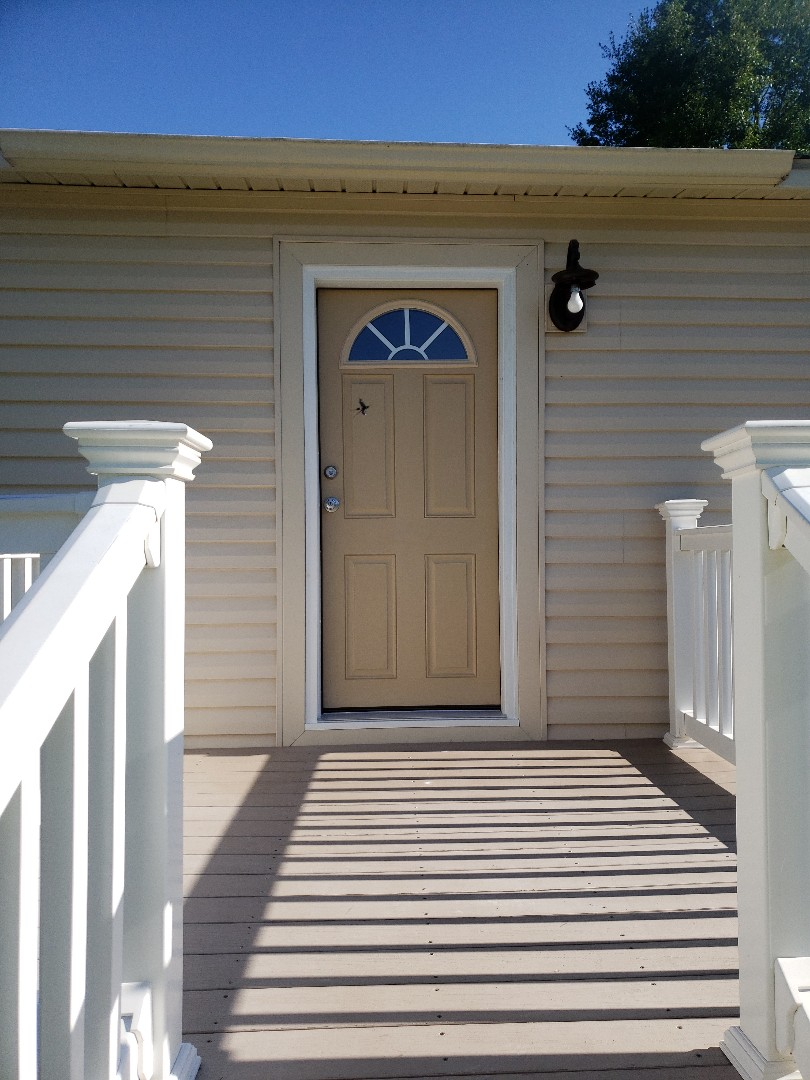 Chunchula, AL - Installed entry doors and storm door