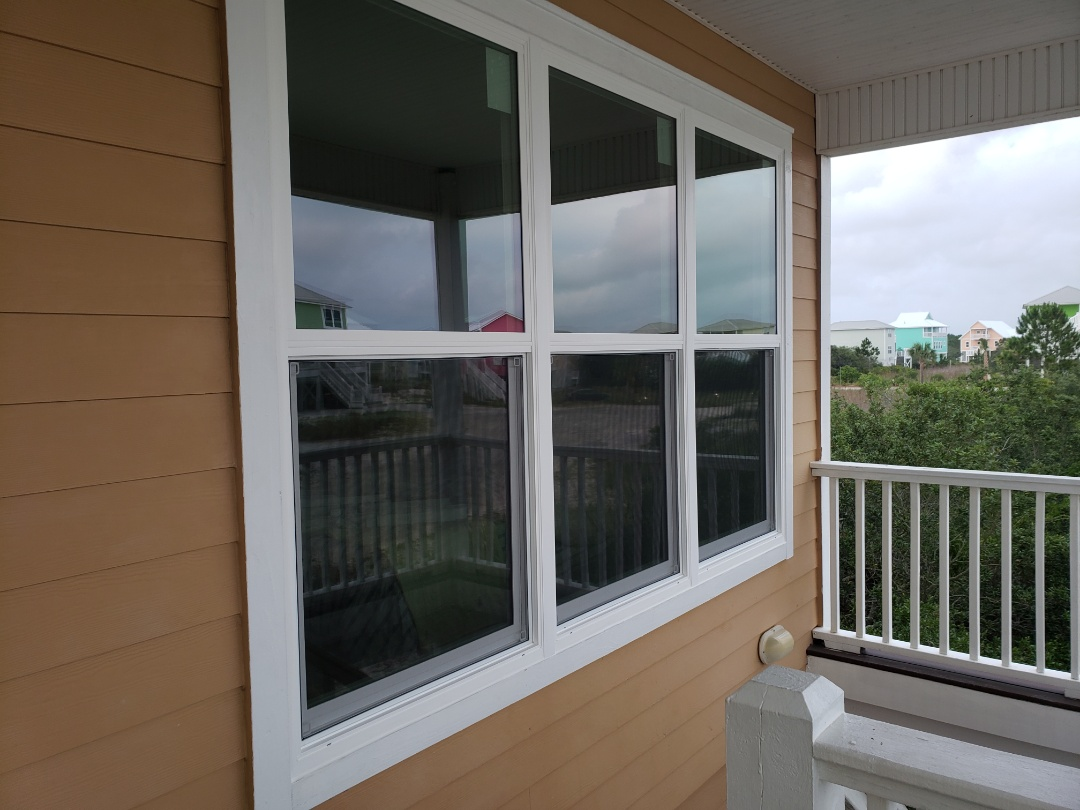 Gulf Shores, AL - Installed Schwinco replacement impact windows