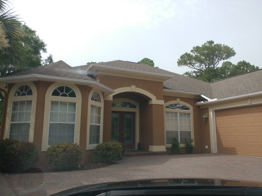 Navarre, FL - A new patio room, some new impact windows, and some Hurricane protection from Folkers