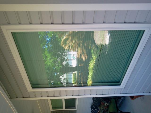 Pensacola Beach, FL - Folkers installation crew completed the installation of our repeat customer's one fixed white argon low e impact Viwinco window. Crew then hauled away the old window and all debris from the installation.