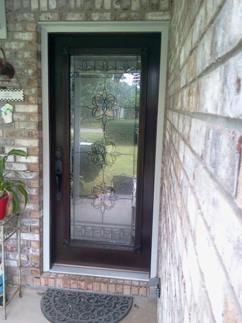 Cantonment, FL - Folkers installed new entry Viwinco door