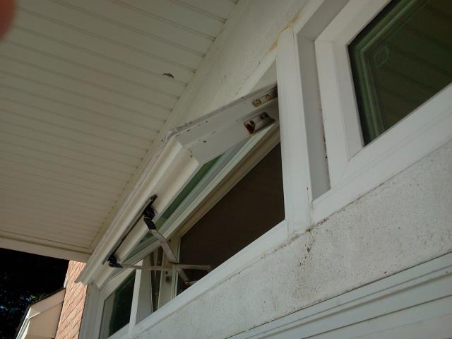 Folkers serviced a Shwinco impact rated window