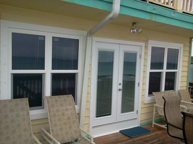Orange Beach, AL - Installed a French door in place of the sliding glass door that was there.