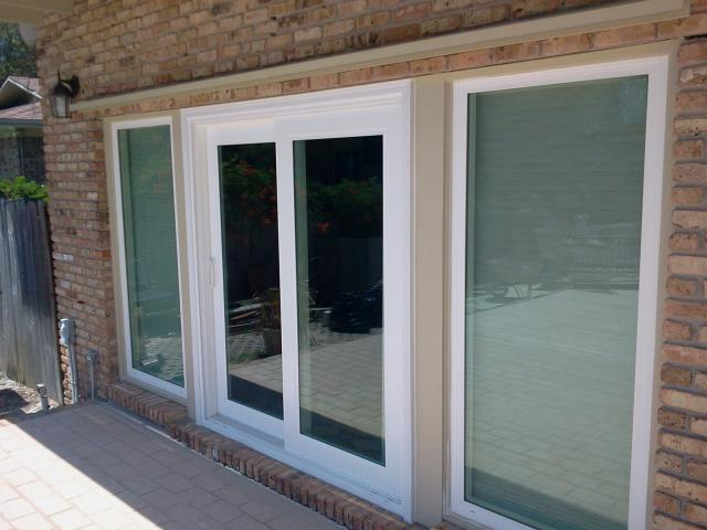 Installed new Shwinco impact rated sliding glass doors