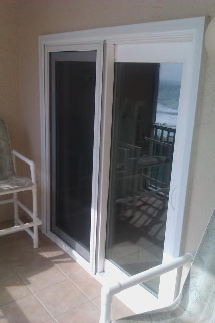 Mary Esther, FL - Installed two Shwinco sliding glass doors